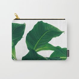 Green Leafs (Color) Carry-All Pouch