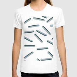 Hair Combs pattern. T-shirt