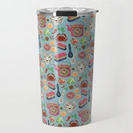 Peranakan tea party Travel Mug