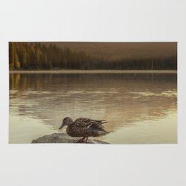 The Oregon Duck Rug