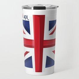 Union Jack Flag Travel Mug