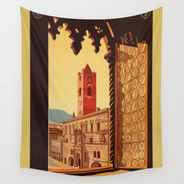 Old Ascoli Piceno Wall Tapestry