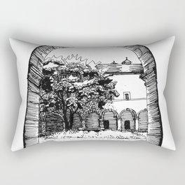 a glance inside Rectangular Pillow