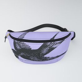 Swallow on Blue Fanny Pack