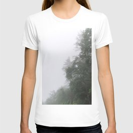 Foggy Morning in North Georgia Mountains 2 T-shirt
