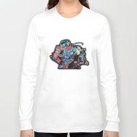 fullmetal Long Sleeve T-shirts featuring Fullmetal Alchemist by lauramaahs