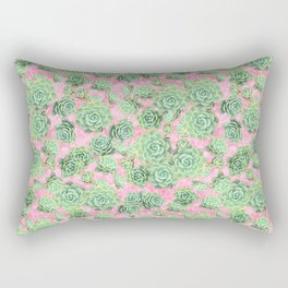 Sempervivum - live forever Rectangular Pillow