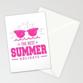 The Best Summer Holidays mag Stationery Cards