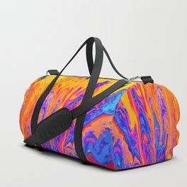 Over Active Brain Activity Fluid Abstract 60 Duffle Bag