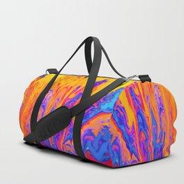 Over Active Brain Activity Fluid Abstract 60 Duffle Bag