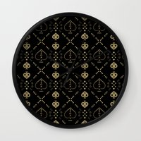 ace Wall Clocks featuring Ace by mothafuc