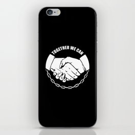Together We Can iPhone Skin