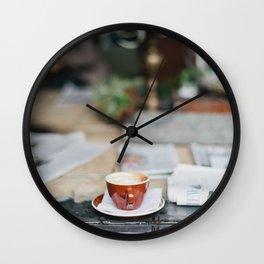 Remnants Wall Clock
