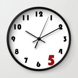 Work Clock Wall Clock