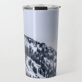 Monochrome Winter Travel Mug