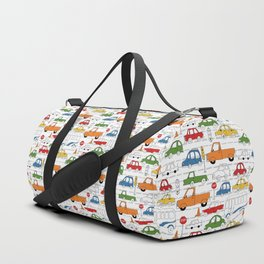 Busy Traffic Pattern Duffle Bag