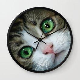 Kitty Cat Wall Clock