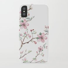 Apple Blossom 2 #society6 #buyart Slim Case iPhone X