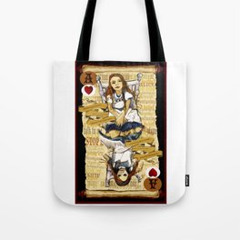 'Alice' (Alice in Steampunk Series) Tote Bag