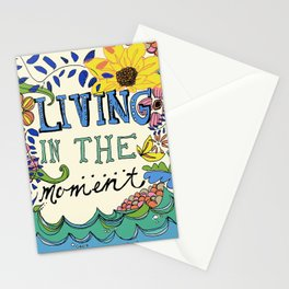 Living in the Moment Stationery Cards
