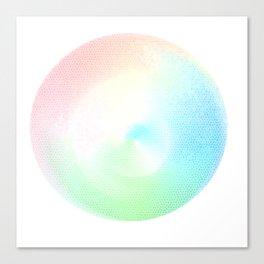 Rainbow Swirl Canvas Print