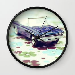 Chevelle Convertible Wall Clock