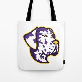 Great Dane Dog Mascot Tote Bag