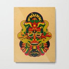 Phunk Monster Metal Print