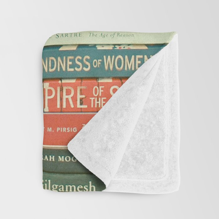 Bookworm Throw Blanket