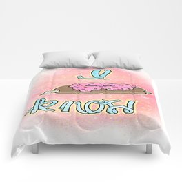 I donut know! Comforters