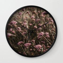 Flower Photography by Anita Austvika Wall Clock