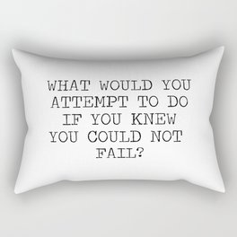 What would you attempt Rectangular Pillow