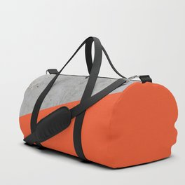 Concrete and Flame Color Duffle Bag