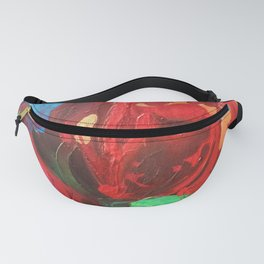 The Tulips Came Early Fanny Pack