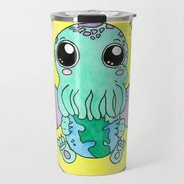 Nom Nom! Cute-thulu Travel Mug