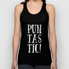 Puntastic! Unisex Tank Top