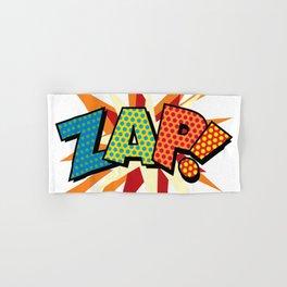 Comic Book Pop Art Sans ZAP! Hand & Bath Towel