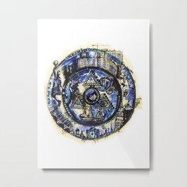 World through time Metal Print