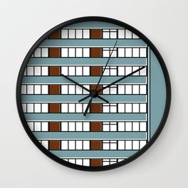 Edificio Las Américas -Detail- Wall Clock