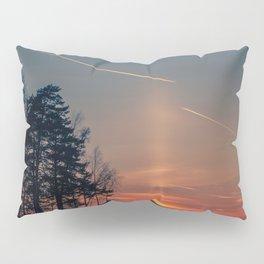 Flying at sunset Pillow Sham