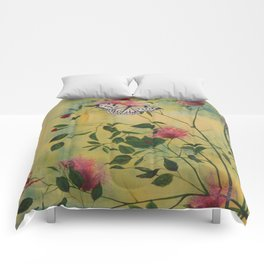 Rice Paper Butterfly Comforters
