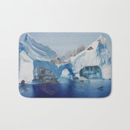 Iceberg city  Bath Mat
