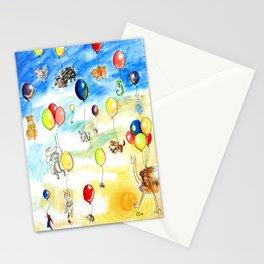 Animal Balloon Parade  Stationery Cards