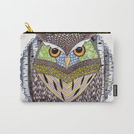 Poorly Camouflaged Owl Carry-All Pouch
