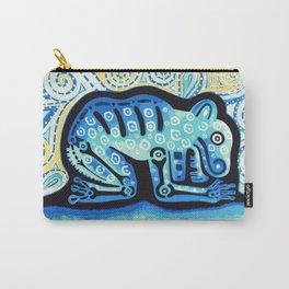 Blue Jaguar posterized Carry-All Pouch