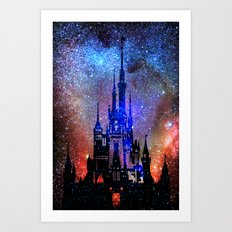 Fantasy Disney. Nebulae Art Print