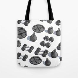 I Like Weights Tote Bag