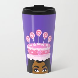 Coronation Cake fit for a Queen Travel Mug