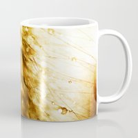 champagne Mugs featuring Champagne by Rosemary Danielis