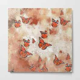 adorable Butterflies, terra Metal Print